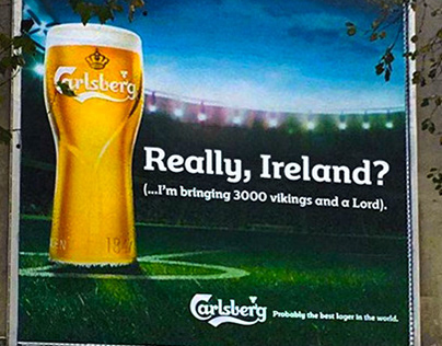 Carlsberg Newsjacking