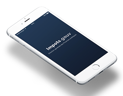 App redesign - Impots.gouv