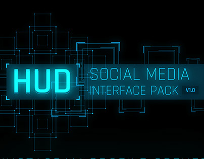 HUD social media interface