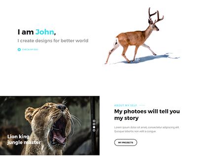 Kiri - Creative Portfolio & Photography Template
