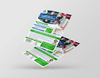COVID-19 Flyer Design