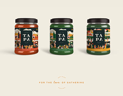 T A P A - artisan sauces Branding & Packaging