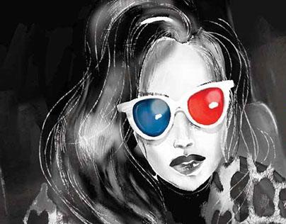 Illustration for ELLE magazine