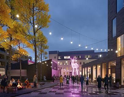 Project Kolu | New Residential Area in Rovaniemi