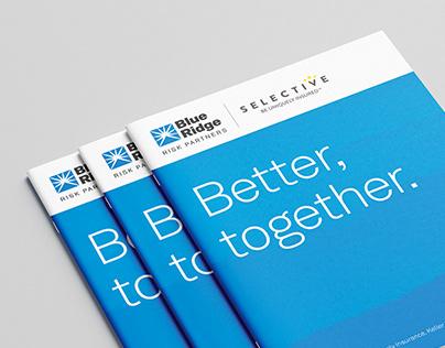 Blue Ridge – Logo, Identity Program, Copywriting, Print