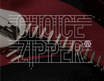 Choice Zipper Brand Identity