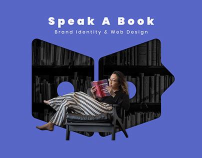 Speak A Book - Brand Identity & Web Design