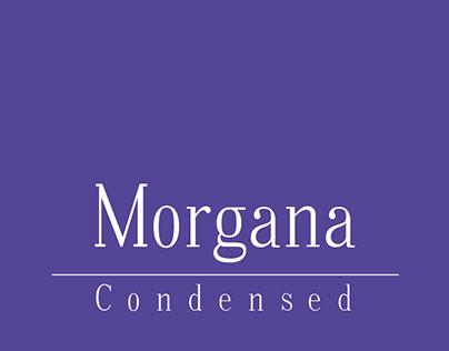 Morgana Condensed - Typeface