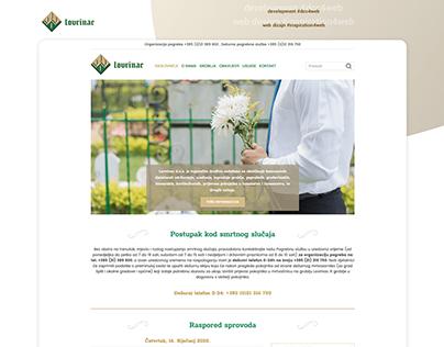 Lovrinac d.o.o. - website (graveyard)