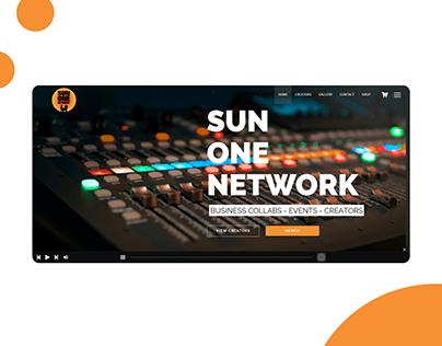 Sun One Network Homepage