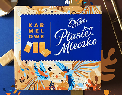 Packaging: E. Wedel Ptasie Mleczko ®