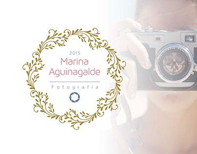 Marina Aguinagalde Logo