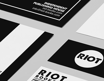 RIOT BOOKS (Branding Design)