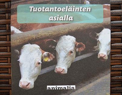 Animal Rights -prochures for Animalia Ry