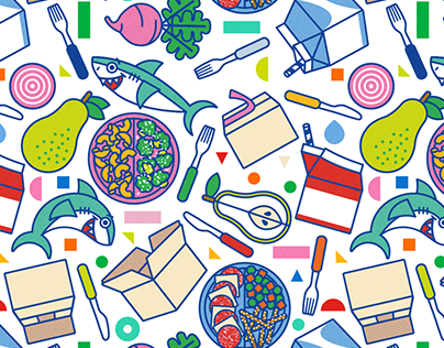 Food Delivery Service - Packaging options, illustration
