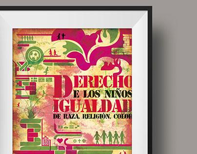 Afiche sobre el derecho de los niños (2013)