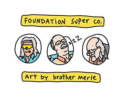Foundation Skateboards x Brother Merle