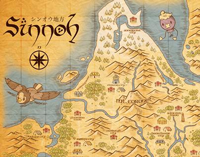 Sinnoh Map