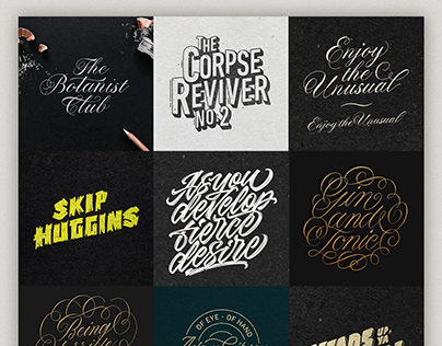 Calligraphy and Lettering Collection - 2017