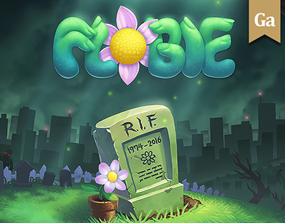 Flobie - game UI