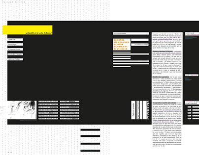Revista experimental - géneros discursivos -