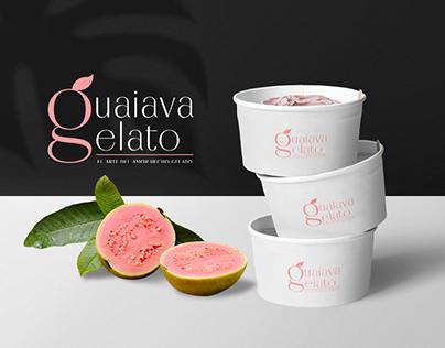 Guaiava Gelato - Branding