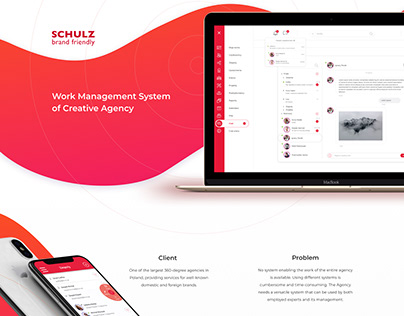 Work Management System of Creative Agency