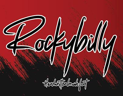 ROCKYBILLY || HANDWRITTEN BRUSH FONT