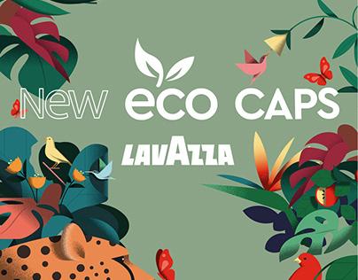 Lavazza Eco Caps | Visual Identity and Print