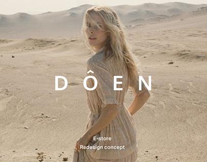 DOEN - Online store
