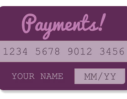 UI Design Challenge 10: Credit Card Payment Info