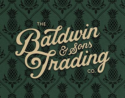 Baldwin & Sons Trading Co. and Baldwin Bar Branding