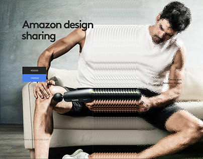 Amazon A+ Content Design---Fascia gun