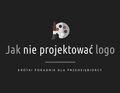 Jak NIE PROJEKTOWAĆ Logo
