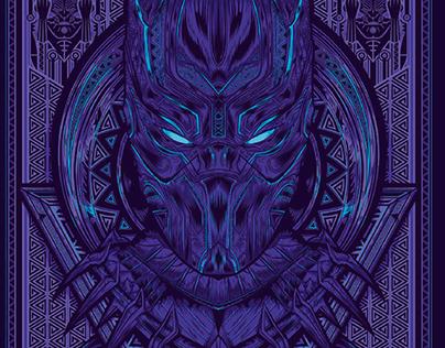 Black Panther Adobe Illustrator