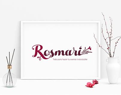 Diseño de identidad/Rosmari
