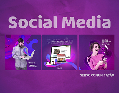 Social Media - Senso Comunicação