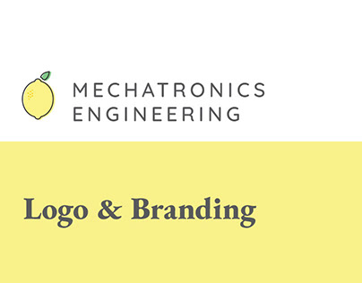 Mechatronics Engineering Logo and Branding Design