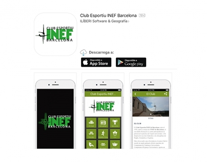 Club Esportiu INEF Barcelona APP - 2016