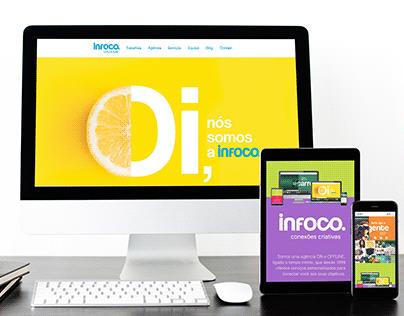 Site Infoco Comunicação