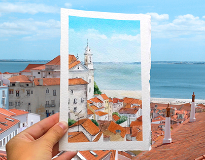 """Watercolor """"photos"""""""