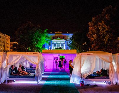 Transatlantyk Festival- Cinema in Bed