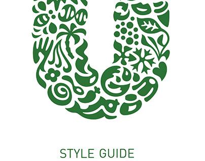Unilever Sustainability Style Guide
