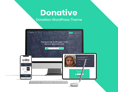 Donative – Free Donation Based WordPress Theme