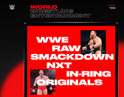 WWE — New Website Project '20