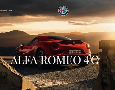 Promo site Alfa Romeo 4C