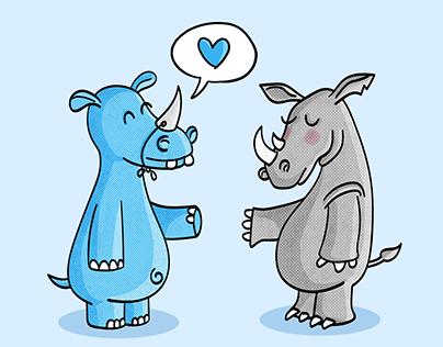 Hippo meets Rhino