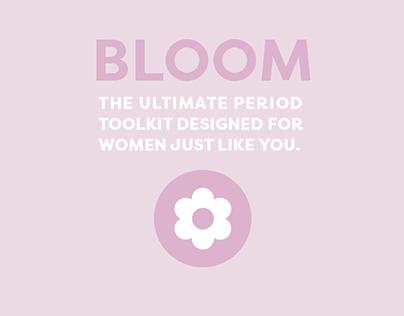 Bloom Period Tracking App Redesign & Instagram