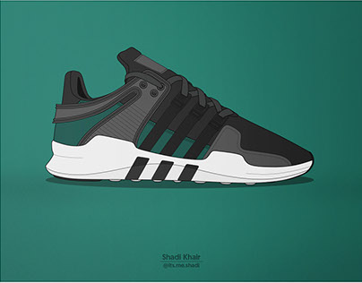 Adidas EQT ADV Illustration