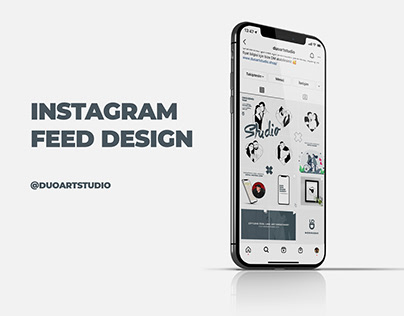 Instagram Feed Design @duoartstudio